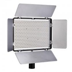 Panneau avec 600 LED 5500k inclus 2 batteries
