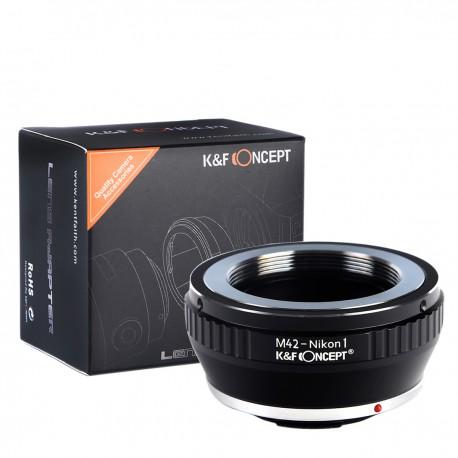 Adaptateur d'objectif pour Nikon1 Series mount