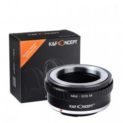 Adaptateur d'objectif pour Canon EOS-M mount