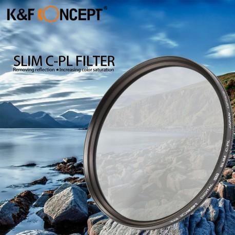 Filtre Polarisant Slim K&F Concept multi-couches