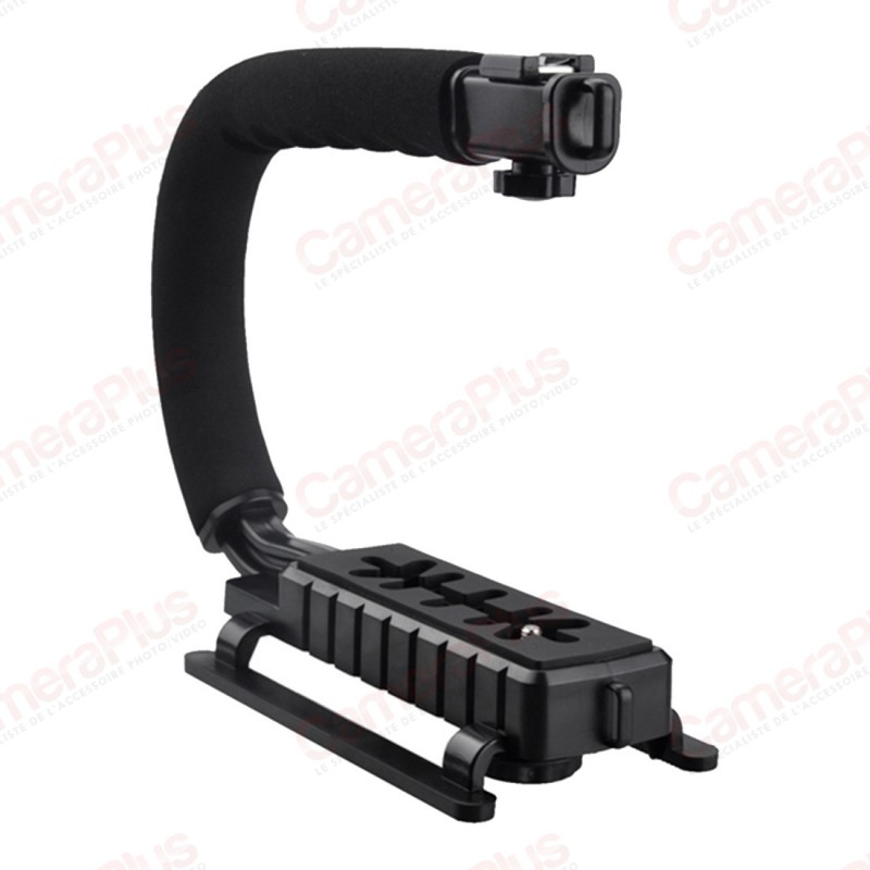 steadycam pour appareil photo et camera. Black Bedroom Furniture Sets. Home Design Ideas