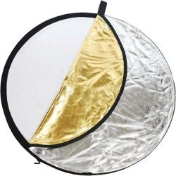 Réflecteur 5 en 1 doré/argenté/translucide/noir/blanc