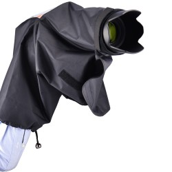 Protection pluie avec œilleton pour Nikon