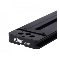 Objektivplatte 115mm Arca Typ - Schnellwechselplatte