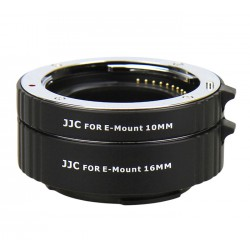 Kit tube allonge bague macro 10/16mm pour Sony E-mount