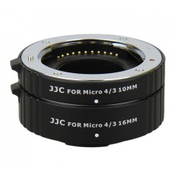Kit tube allonge bague macro 10/16mm pour Panasonic MFT mount Micro M4/3