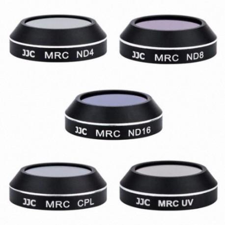 Kit 5 en 1 filtre polarisant CPL/ND4, ND8, ND16/UV pour DJI Mavic Pro