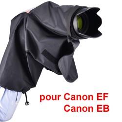 Protection pluie avec œilleton pour Canon EF