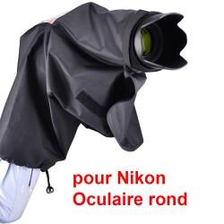 Protection pluie avec œilleton rond pour Nikon DK-19