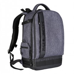 Sac photo K&F Concept Gris Large 44x16x29cm