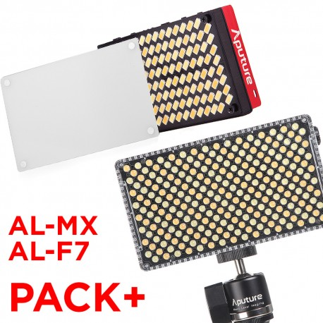 Pack nouveautés Aputure, AL-MX et AL-F7