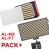 Aputure Neuheiten Paket, AL-MX und AL-F7