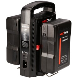 Kit HedBox 2x 150Wh et chargeur batterie V-Mount total 300Wh