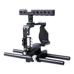 Cage vidéo pour Sony A6000/A6300/A6500