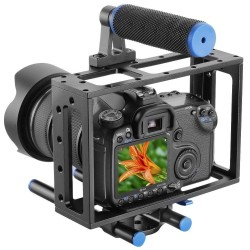 Universal VideoKäfig für DSLR Nikon, Canon, usw.