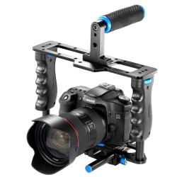 Grande cage vidéo universelle pour DSLR Nikon, Canon etc.
