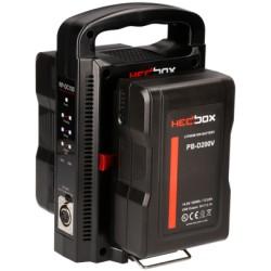 Kit HedBox 2x 195Wh Akkus V-Mount und Ladegerät gesamt 390Wh
