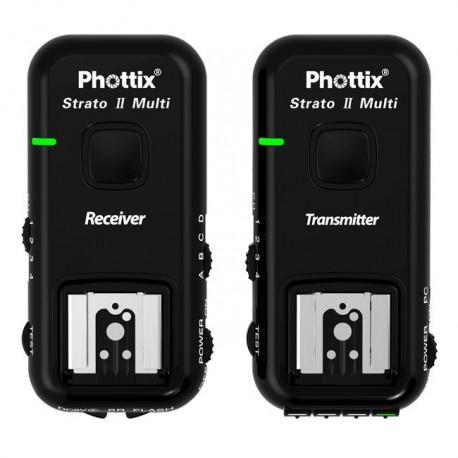 Phottix Strato II pour Canon déclencheur multi fonction flash