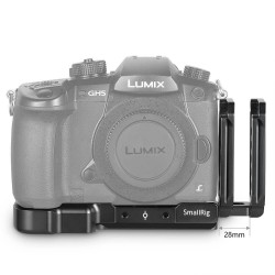 SmallRig L-Bracket pour Panasonic Lumix GH5-GH5S - 2179