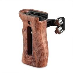 SmallRig poignée latérale universelle en bois – 2093