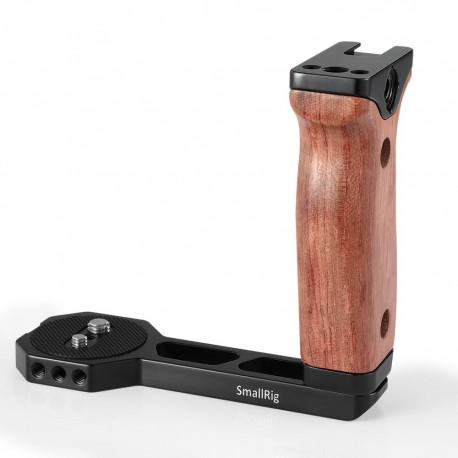 SmallRig Poignée universelle en bois pour stabilisateur Ronin S/Zhiyun Crane - 2222