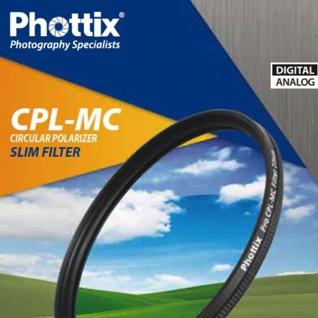 Phottix filtre Polarisant Slim multi-couches CPL