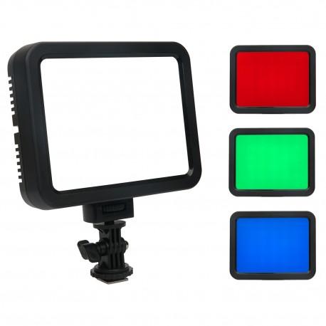 RGB light AL-360 Torche à LED 3200-5700k
