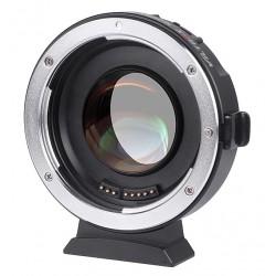 Viltrox EF-M2 II Speedbooster 0.71x Adaptateur Canon EF à M4/3