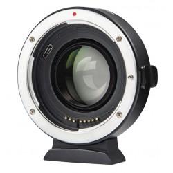 Viltrox EF-FX2 Speedbooster 0.71x Adaptateur Canon EF à Fujifilm X Mount