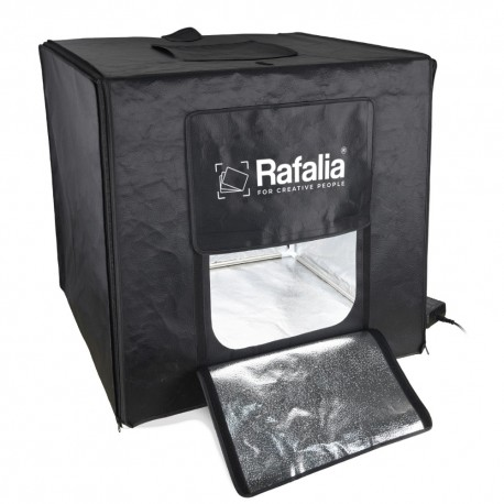 Rafalia Mini studio photo 60x60cm inclus 2 fonds
