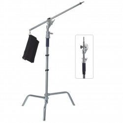 Lampenstativ Rafalia K3450 max 10kg mit arm C-Stand