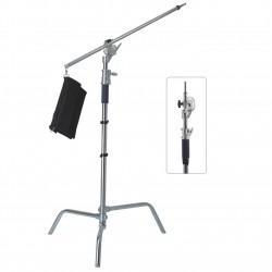 Trépied de studio Rafalia K3450 max 10kg avec bras C-Stand