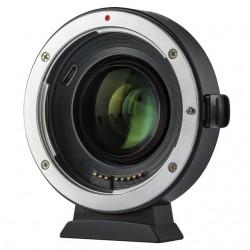 Viltrox EF-EOS M2 Speedbooster 0.71x Adaptateur Canon EF à EOS M
