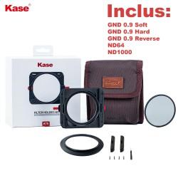 Kit complet Kase porte-filtre K75 pour hybride / objectif petit diamètre
