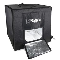 Rafalia Foto-Studio-Box 60x60cm mit LED inkl. 2 Hintergründe
