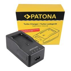 Patona Turbo Ladegerät 220v für NP-F akku