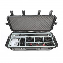 Aputure SKB Kit - 3x LS-C120D mark II + Lampenstative + barndoors