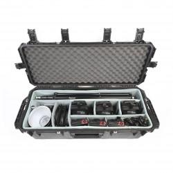 Aputure SKB Kit - 3x LS-C120D mark II + trépieds + barndoors