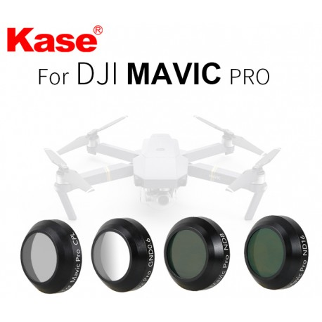 Kase Kit de filtres pour Dji Mavic Pro (4 pièces)
