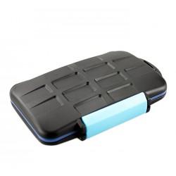 Boite de rangement pour carte mémoire Compact Flash et SD/SDHC/SDXD