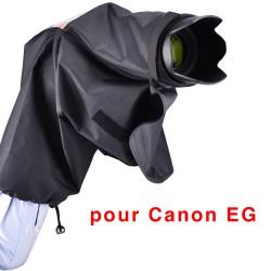 Protection pluie avec œilleton pour Canon EG