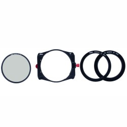 Porte filtre Kase K9 pour filtre 100mm polarisant CPL inclus