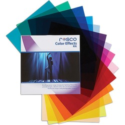 Rosco Gélatine de couleur Color Effects Kit 15 pcs 30x30cm