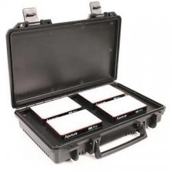 Aputure 4x AL-MC Travel Kit avec caisse de recharge