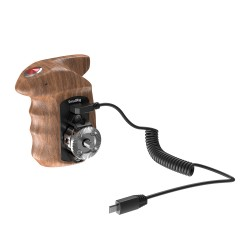 SmallRig Right Side Wooden Hand Grip with Record Start/Stop für Sony - HSR2511