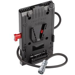 Hedbox UNIX-BM pour Blackmagic Pocket Cinema 4K et 6K Alim V-Mount