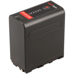 Batterie Hedbox NP-F1000 pour Sony et autres 10400mAh