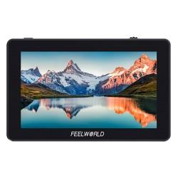 "FeelWorld F6 PLUS 5.5"" petit écran tactile 3D LUT 1920x1080 HD 4K HDMI"