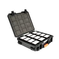 Aputure 12x AL-MC Travel Kit avec caisse chargeur