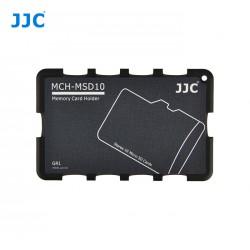 Etui de rangement pour 10x cartes microSD format carte de credit